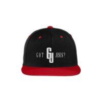 Got Jesus - Flat Bib Hat - Red & Black